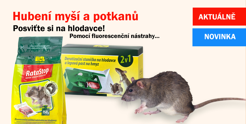 Hubení myší - novinky