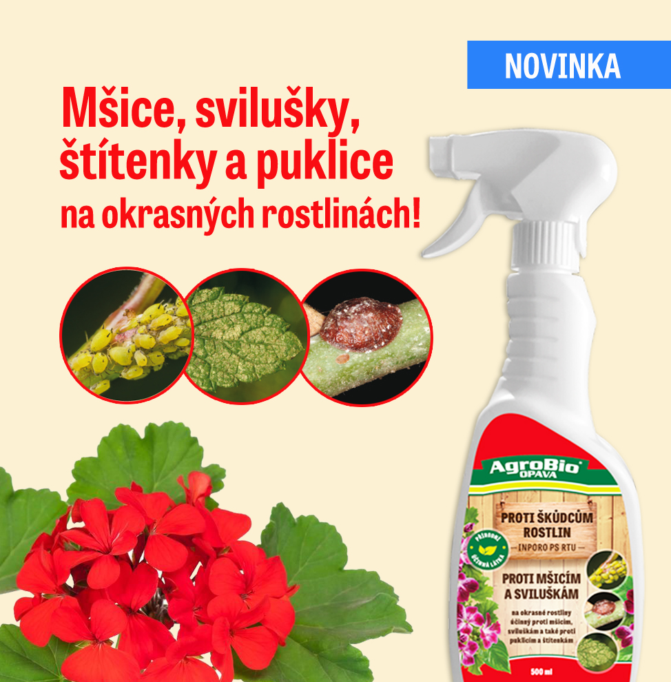PROTI mšicím a sviluškám na okrasných rostlinách - INPORO PS