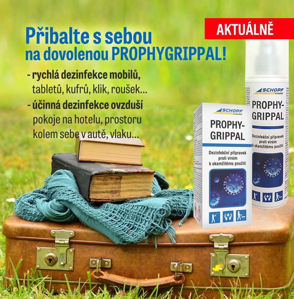 Prophygrippal na dovolenou
