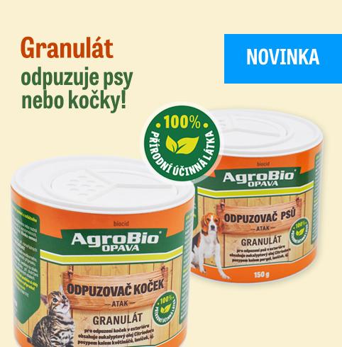 Granulát  - odpuzovač psů a koček!