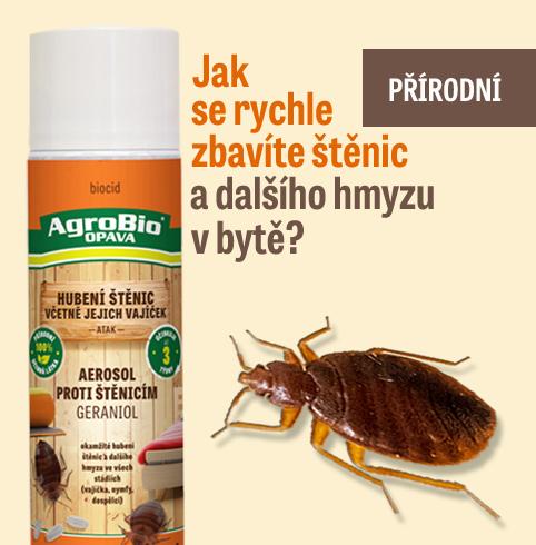 Štěnice  -Geraniol