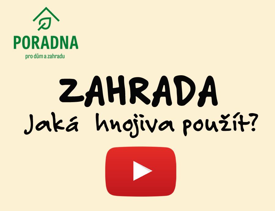 PORADNA PRO DŮM A ZAHRADU - Jaká hnojiva použít?