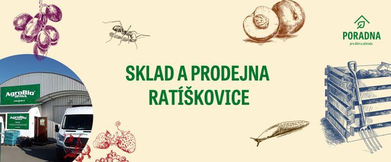 Prodejna a sklad Ratíškovice