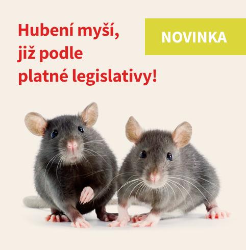 Hubení myší podle platné legislativy!