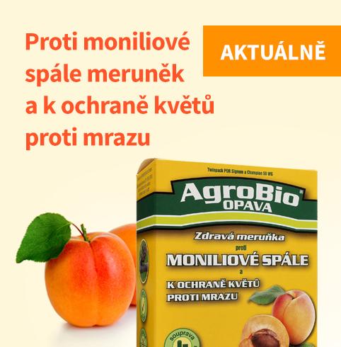 PROTI Moniliové spále meruněk