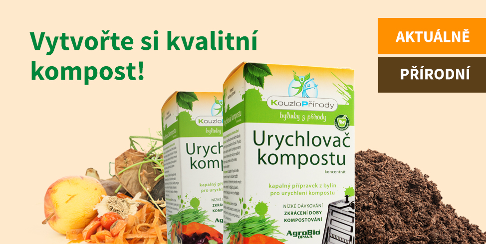 Vytvořte si kvalitní kompost