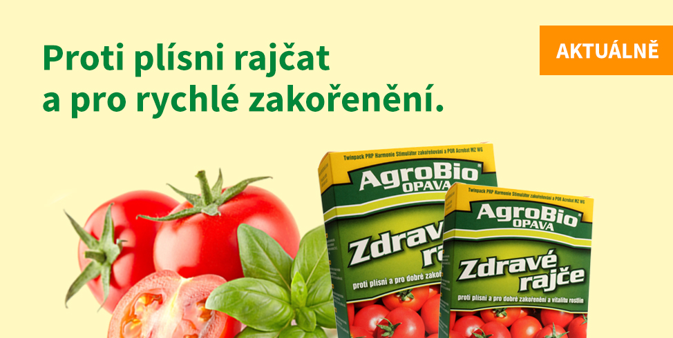 Rajčata bez plísní - Zdravé rajče souprava