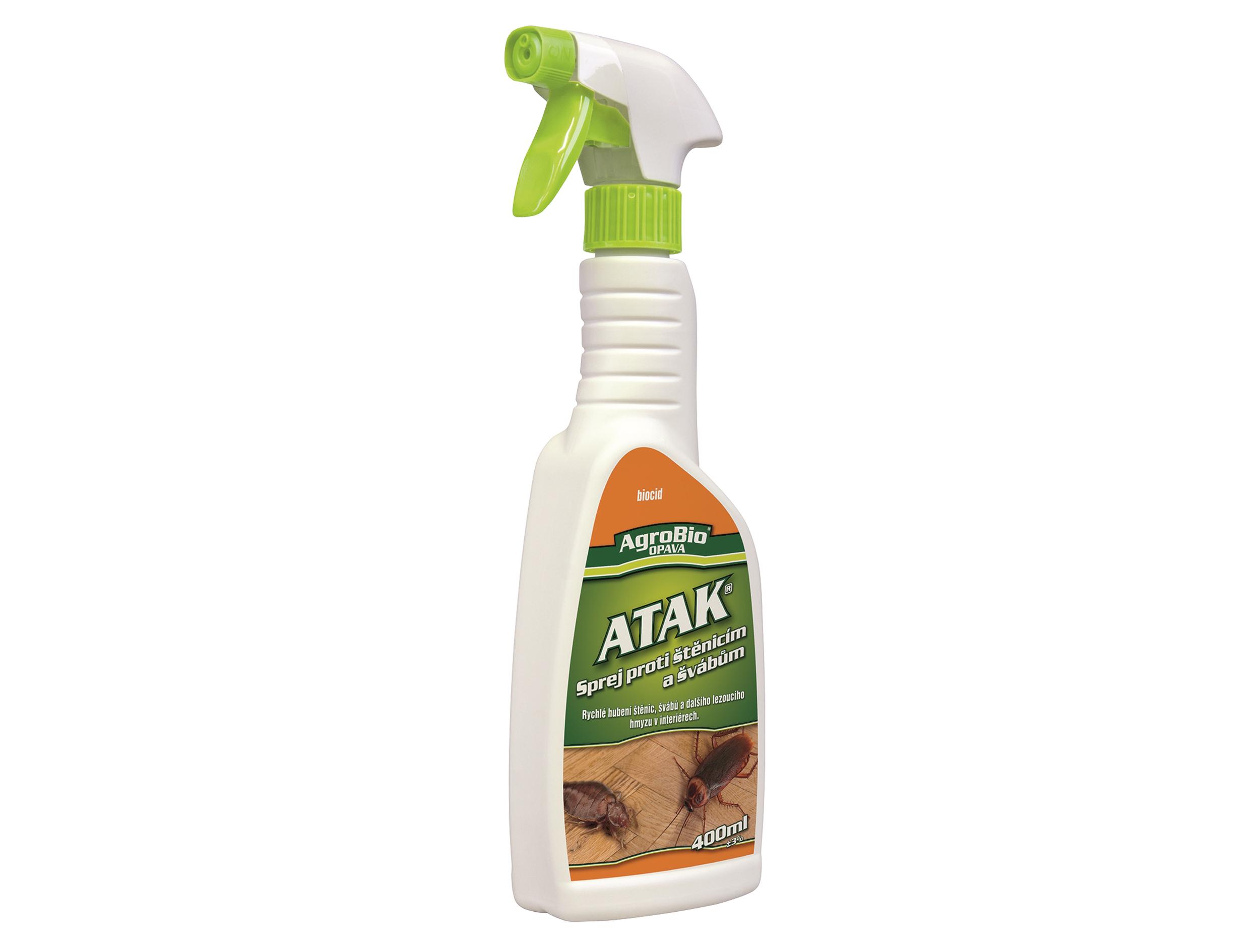 ATAK Sprej proti štěnicím a švábům