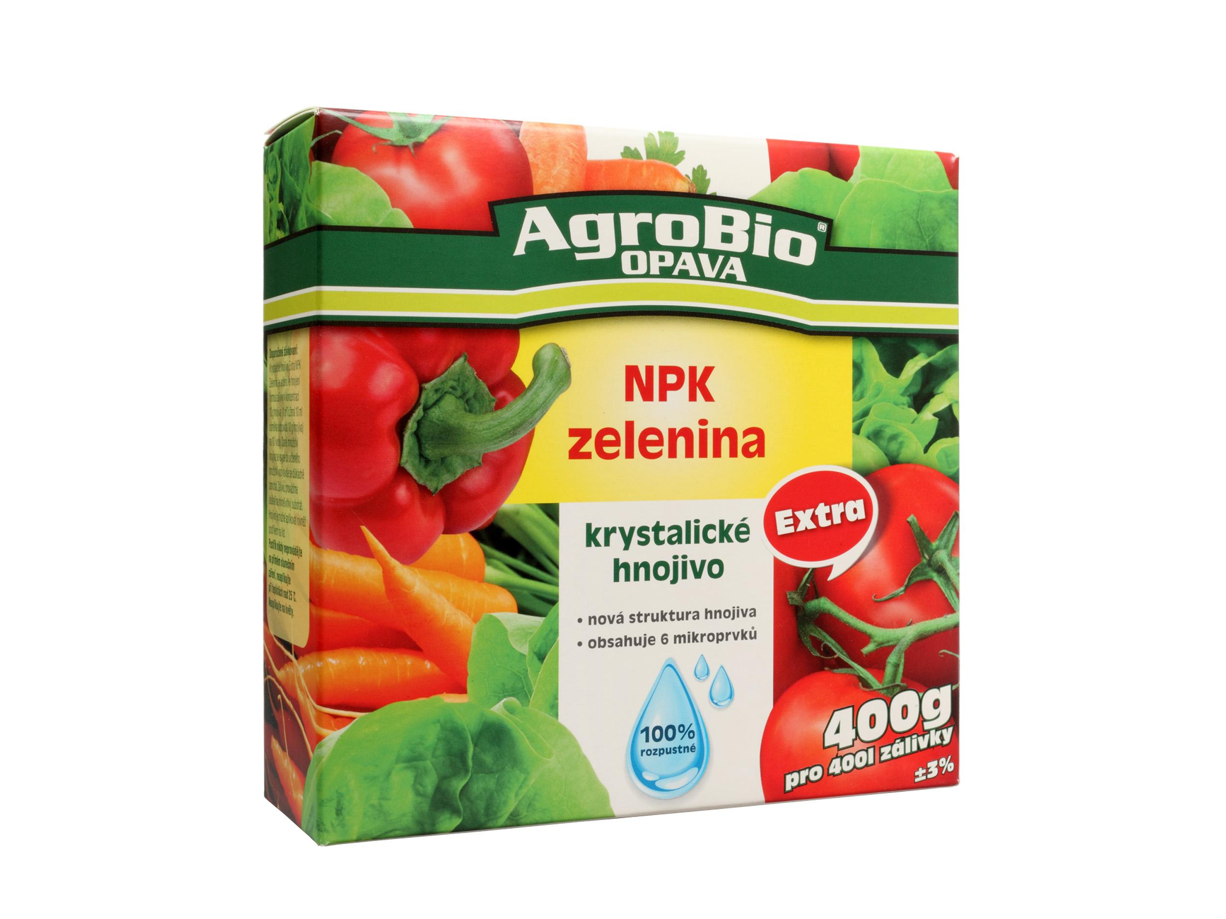 Krystalické hnojivo Extra NPK Zelenina