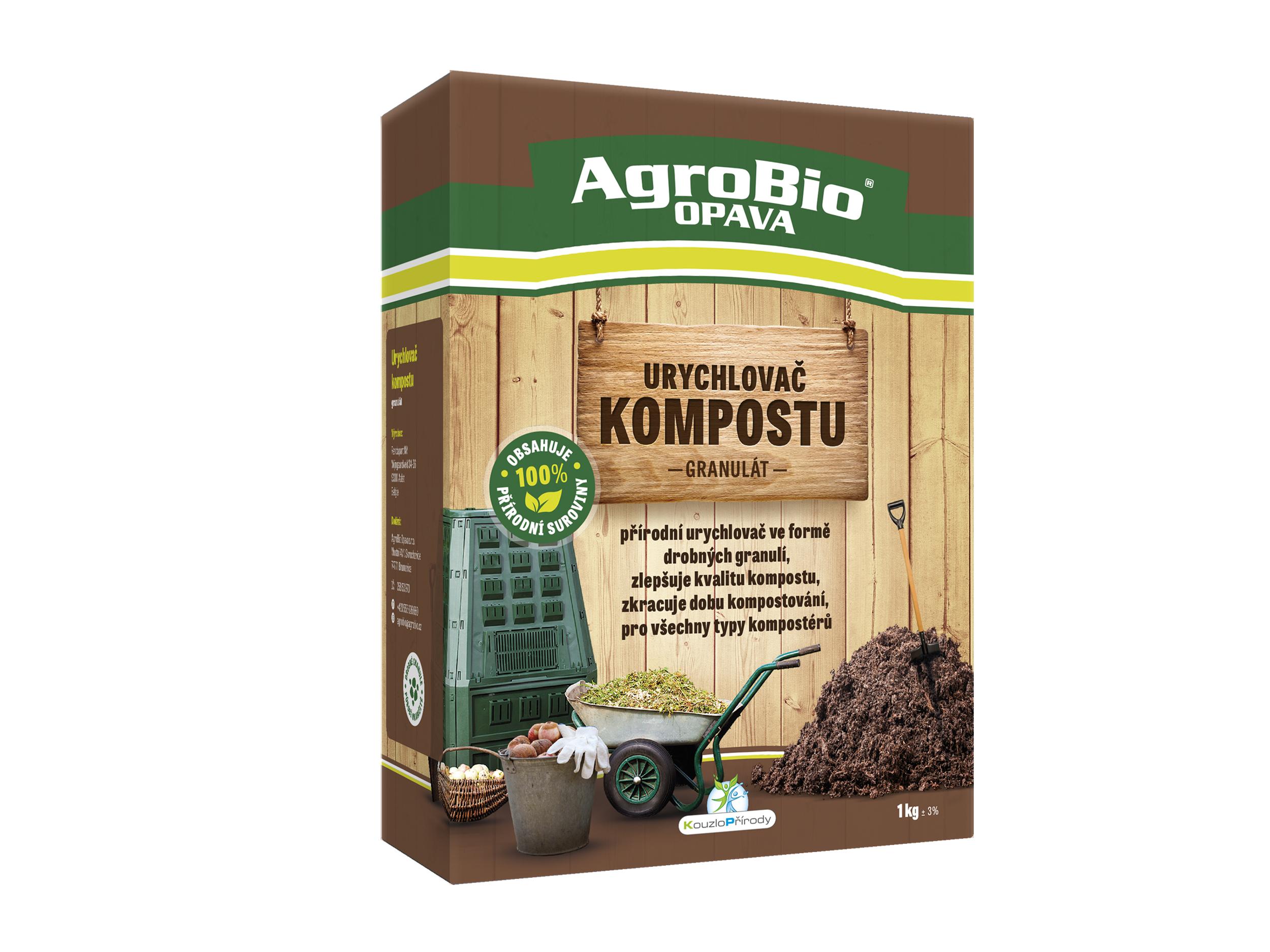 Urychlovač kompostu granulát