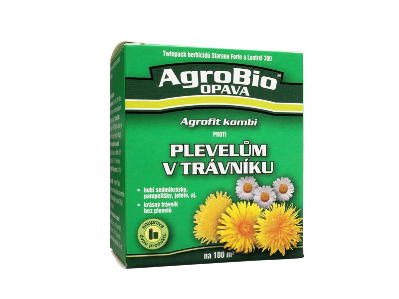 Proti plevelům v trávníku (Agrofit kombin new)