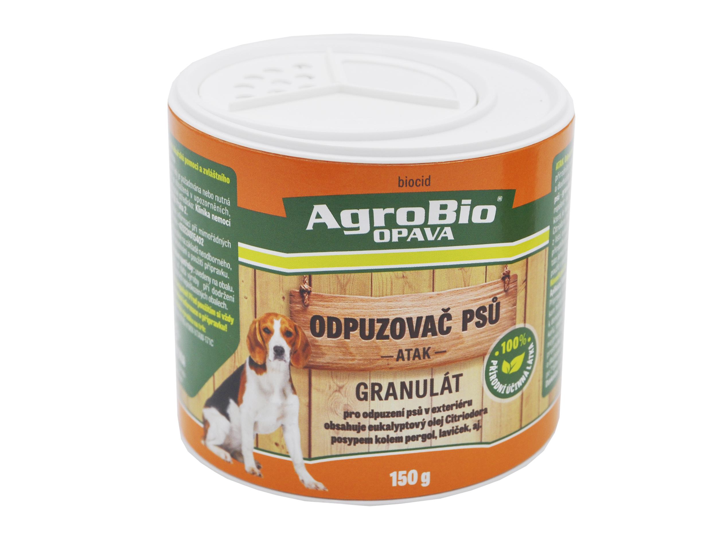ATAK Odpuzovač psů granulát