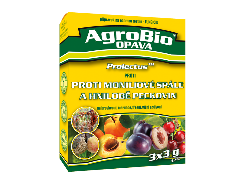 PROTI moniliové spále a hnilobě peckovin (Prolectus)