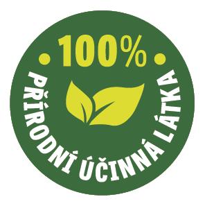 100% přírodní účinná látka