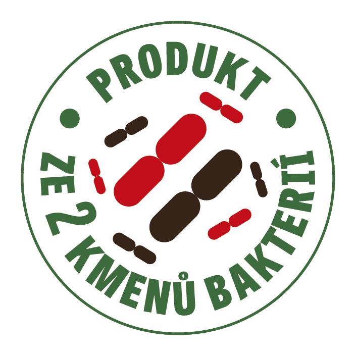 Produkt ze 2 kmenů bakterií