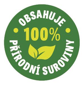 100% přírodní suroviny