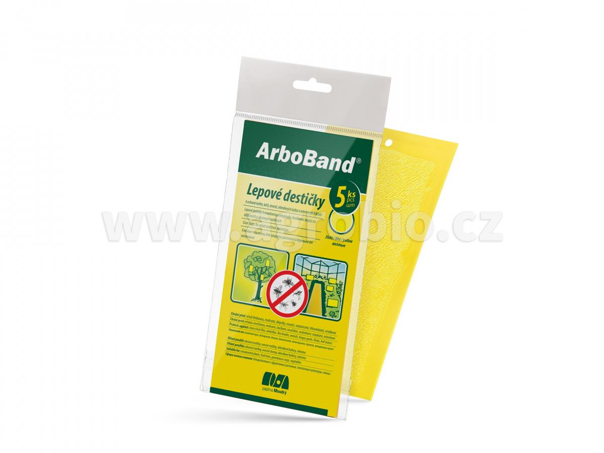 PM Lepové desky žluté ArboBand lapac