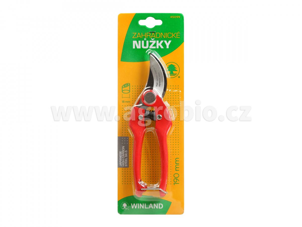 Nůžky zahradnické - Winland 190mm