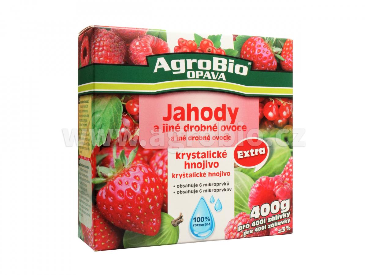 Krystalické hnojivo Extra Jahody 400g