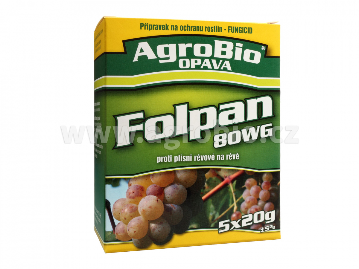 Folpan 80 WG 003040 5x20g