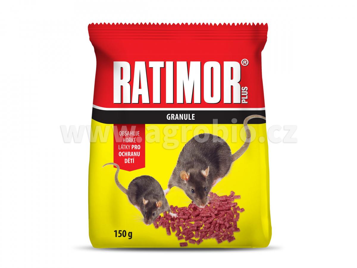 Ratimor Plus_granule_150g_saček