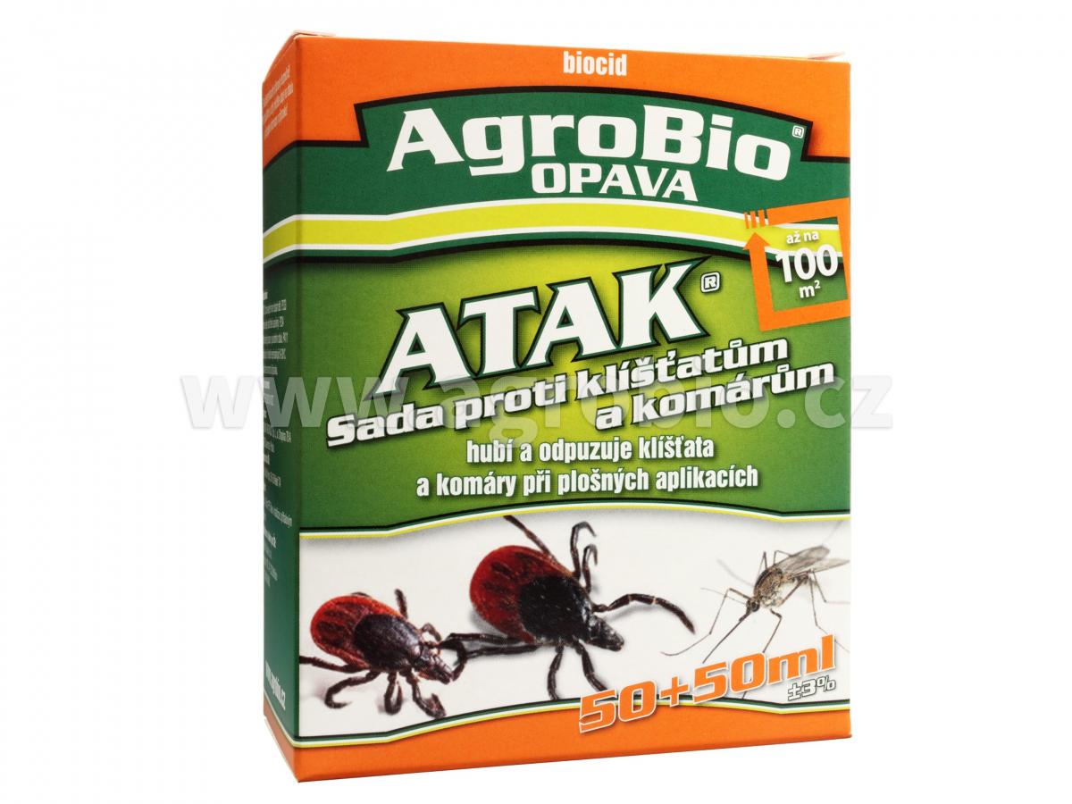 Atak Sada proti klíšťatům a komárům 50+50ml