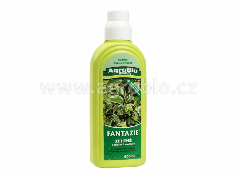 Kapalné hnojivo Fantazie - Zelené pokojové rostliny
