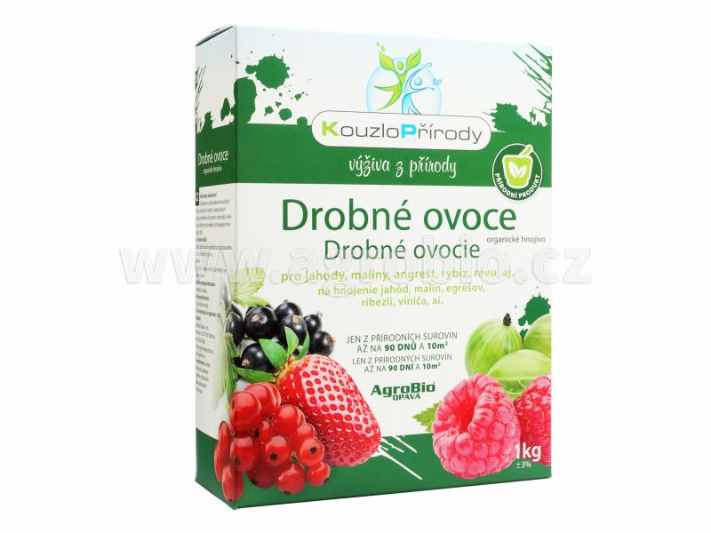 Kouzlo Přírody Drobné ovoce organické hnojivo