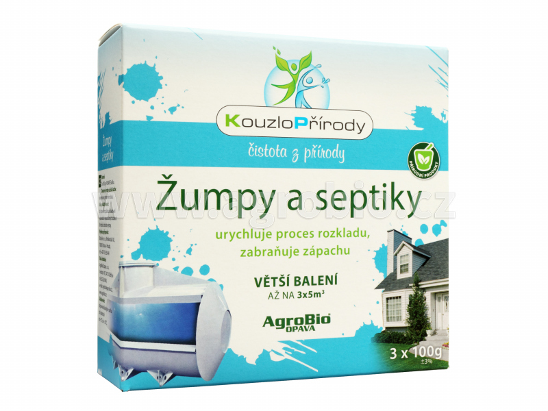 Žumpy a septiky (KP) - 3x100 g