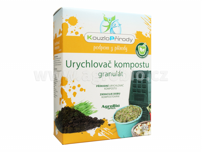 Kouzlo Přírody Urychlovač kompostu granulát