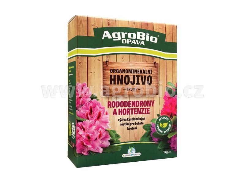 Organo-minerální hnojivo pro rododendrony, hortenzie, aj.