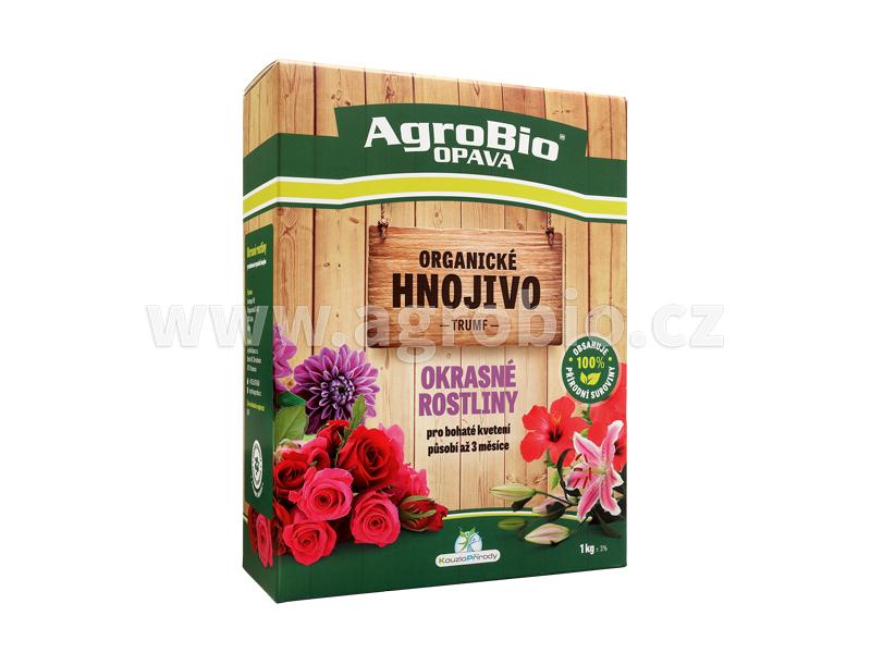 Organické hnojivo pro okrasné rostliny