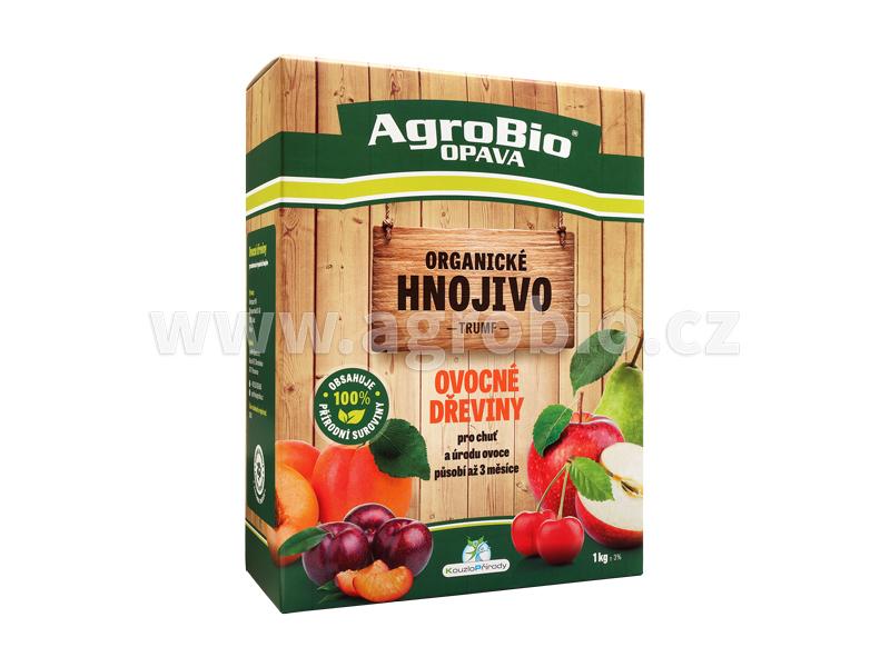 Organické hnojivo pro ovocné dřeviny