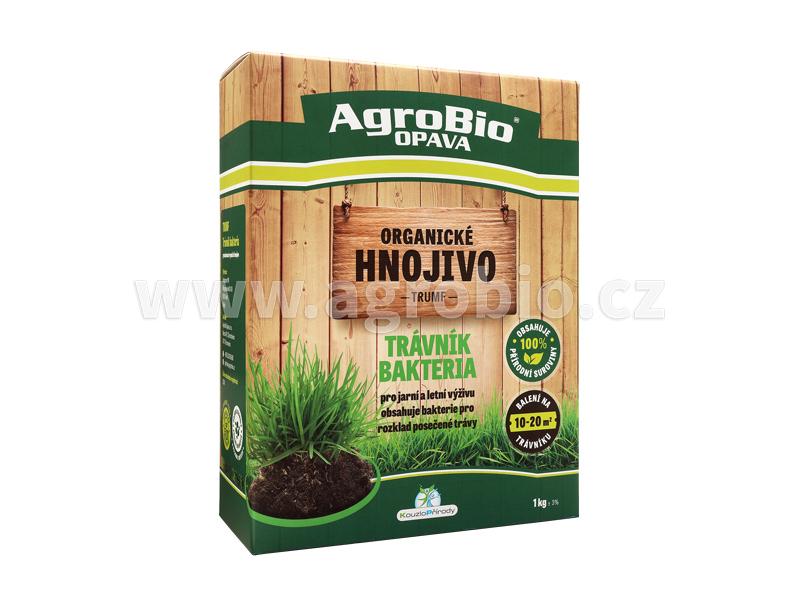 Organické hnojivo Trumf na trávník
