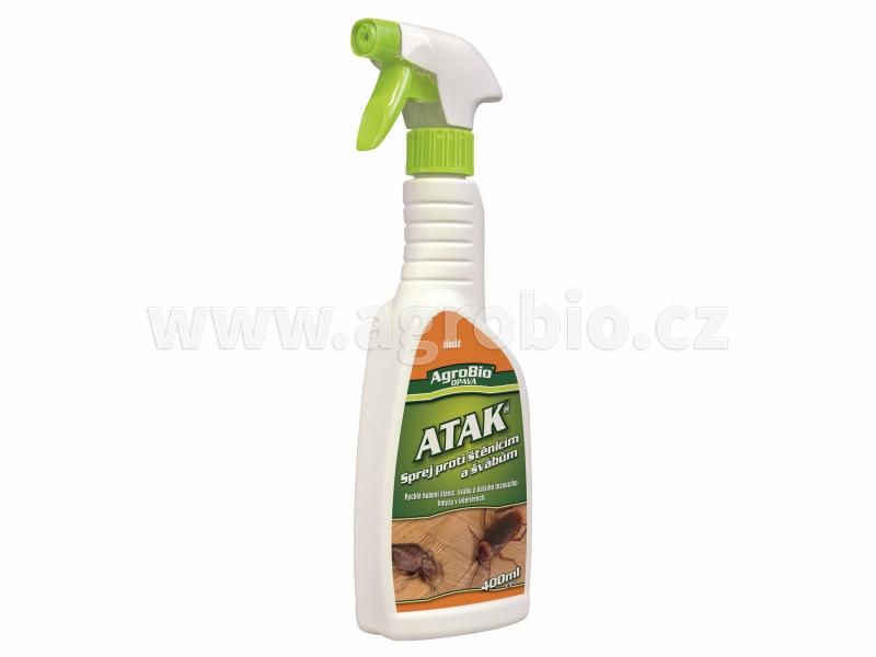 ATAK sprej proti štěnicím a švábům 400ml_R