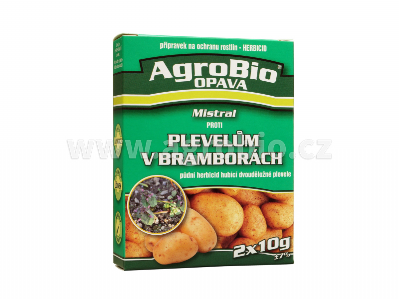 Mistral proti Plevelům v bramborách 2x10g