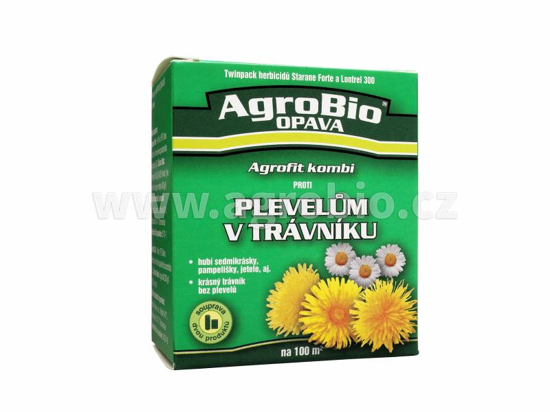Agrofit kombi proti Plevelům v trávníku na 100m2