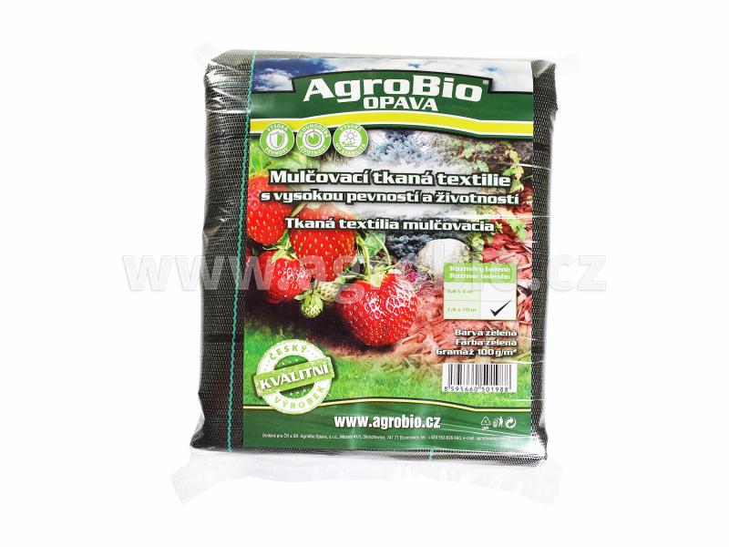 Mulčovací tkaná textilie zelená 1,6x10m