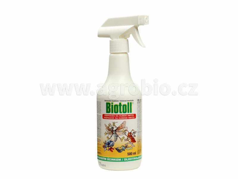 Biotoll univerzální insekticid 500ml