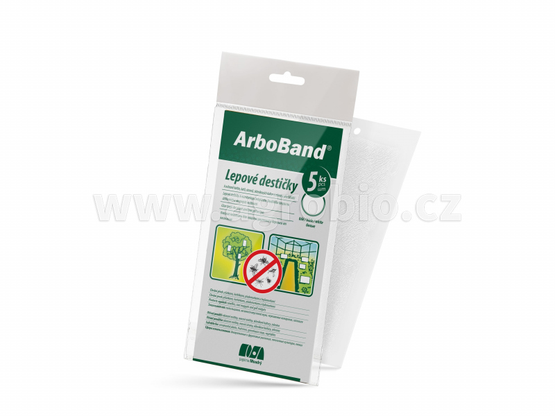 PM Lepové desky bílé ArboBand lapac