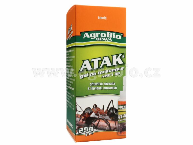 ATAK Gel na mravence AMP 25g