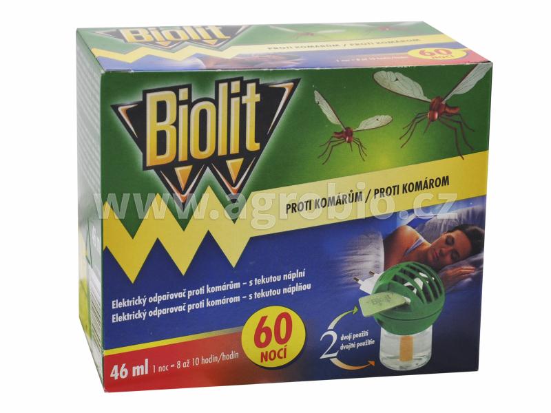 Biolit_elektrický odpařovač_proti komárům_46 ml