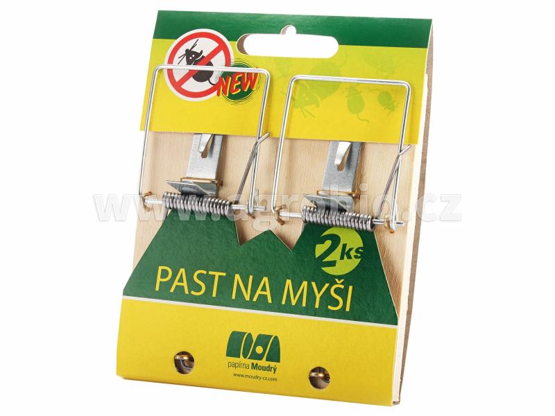 PM Past na myši dřevěná - 2 ks