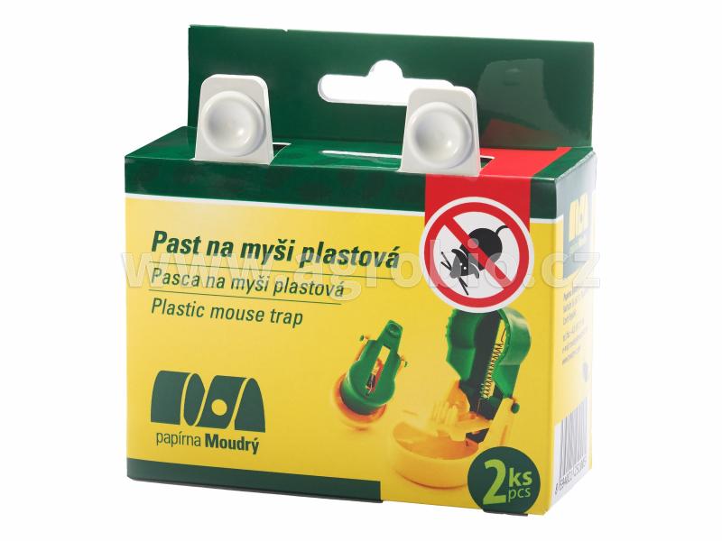 Plastová past na myši_2ks
