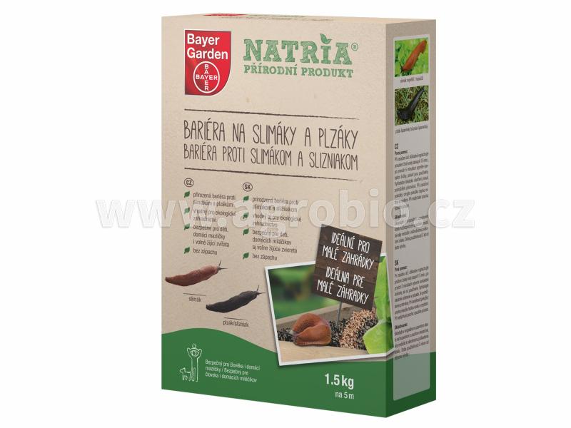 Natria Bariéra na slimáky a plzáky 1,5 kg