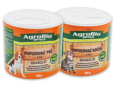 NOVINKY: ATAK Odpuzovač psů - granulát, ATAK Odpuzovač koček - granulát