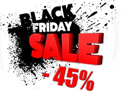 Black Friday aneb černý pátek také u nás...