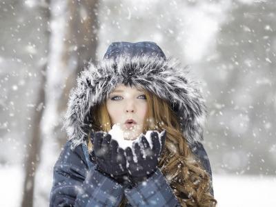Teplé zimní rukavice nejen do zahrady