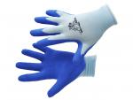 Rukavice dětské CHUNKY modré_ruka